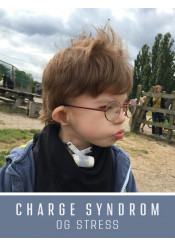 CHARGE syndrom og stress